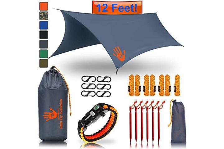Rain Fly Evolution Hammock Waterproof Tent Tarp