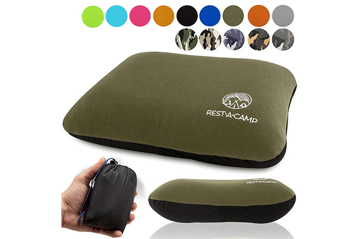 Rest-A-Camp Inflatable Camping Pillow