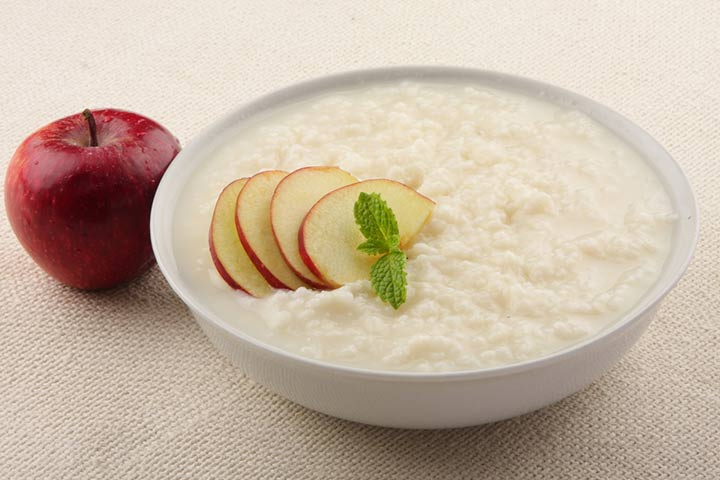 Rice and milk porridge