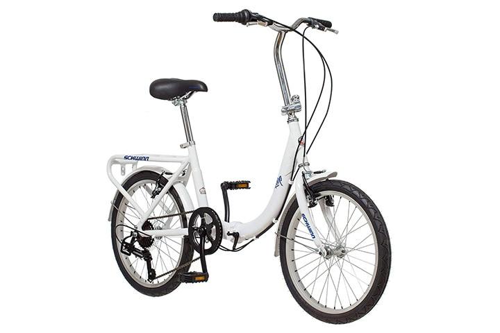 Schwinn Loop Adult Folding Bike, 20-inch Wheels