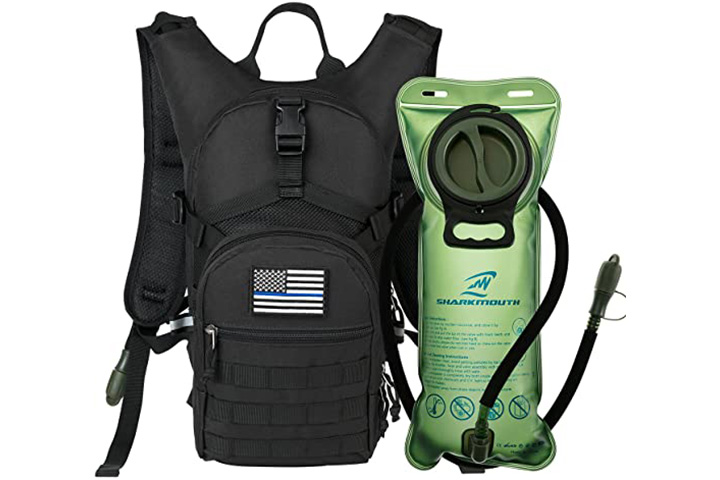 Sharkmouth Tactical Molle Hydration Pack Backpack