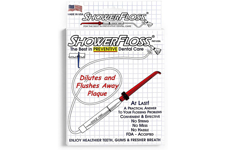 ShowerFlossOral Irrigation Flosser