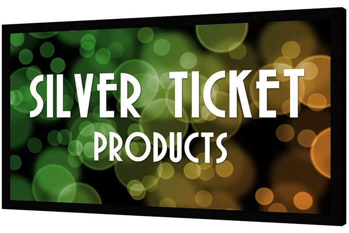 Silver Ticket Products Projector Screen - STR-169110