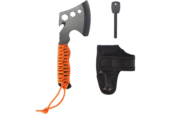 Stansport Para Hatchet with Rope Handle & Fire Starter