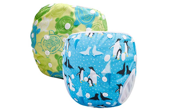 Storeofbaby Reusable Baby Swim Diapers