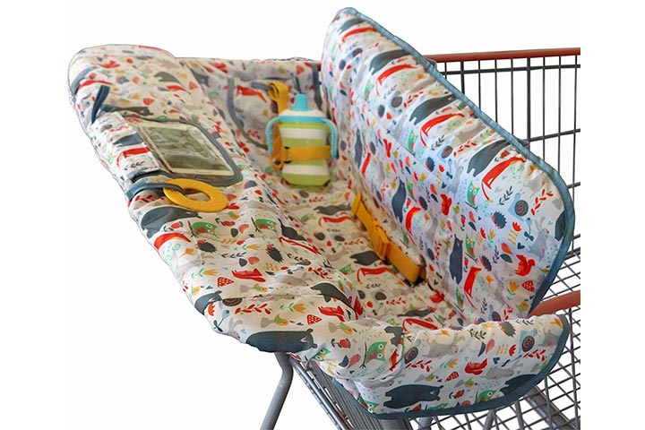 Suessie 2-in-1 Shopping Cart And High Chair Cover