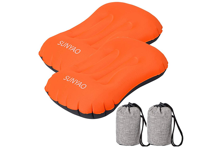 Sunyao Compressible Camping Pillows