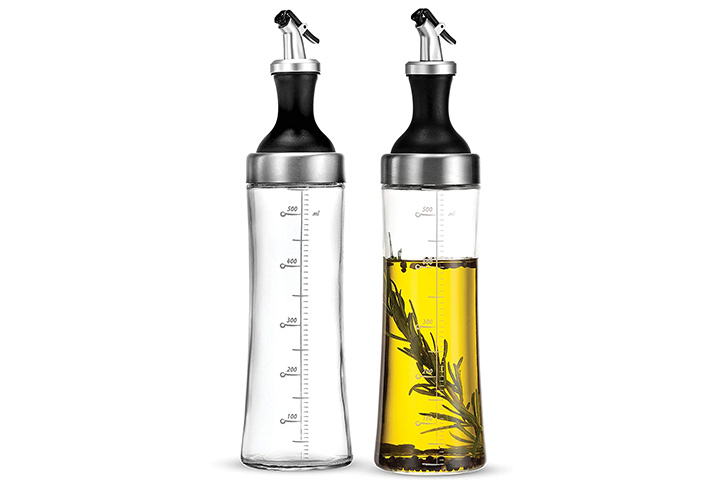 Superior Glass Oil And Vinegar Dispenser