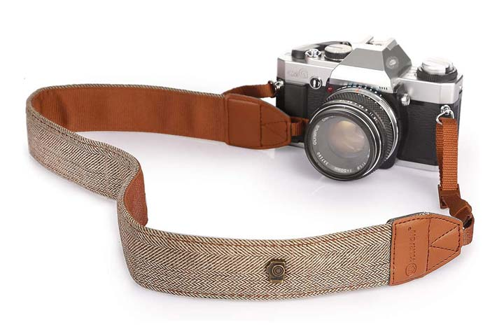 Tarion Khaki Camera Shoulder Strap