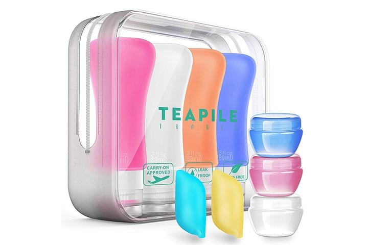 Teapile 4 Pack Travel Bottles