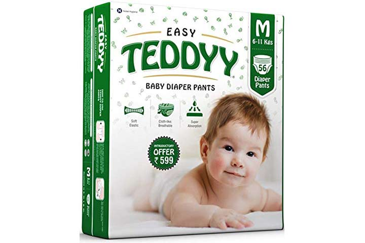 Teddy Baby Easy Diapers