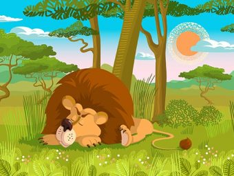पंचतंत्र की कहानी: जब शेर जी उठा | The Lion That Sprang To Life Story In Hindi