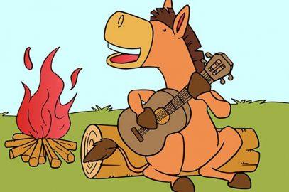 पंचतंत्र की कहानी: संगीतमय गधा | The Musical Donkey In Hindi