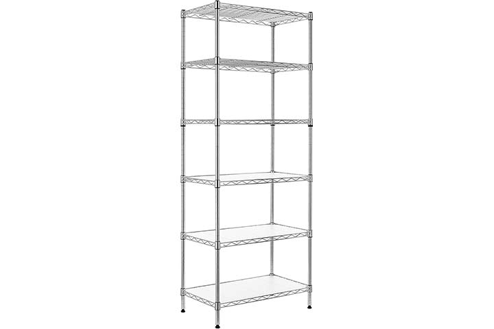 Topeakmart Heavy Duty 5-tier Commercial Garage Shelving Unit