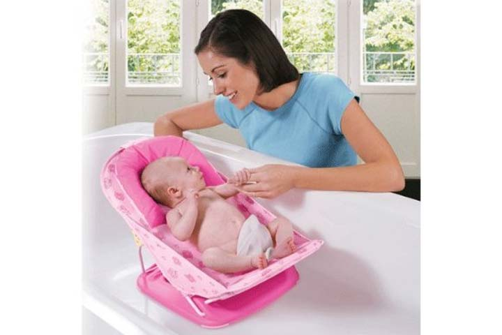Toyboy Deluxe Baby Bather with Removable Head Support