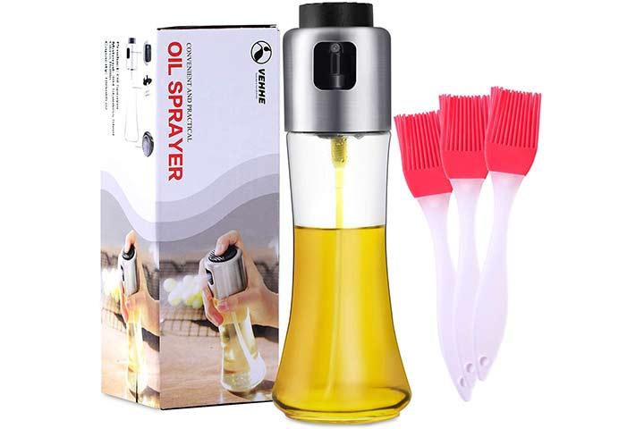 Vehhe Oil Sprayer for Cooking, 180ml6 oz