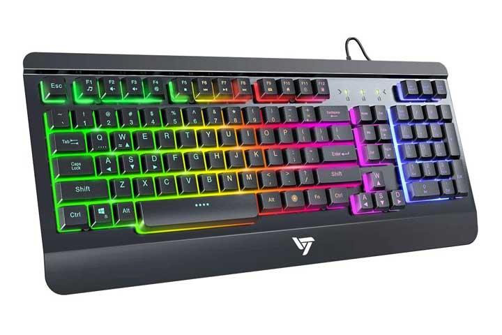 VicTsing Rainbow Gaming Keyboard