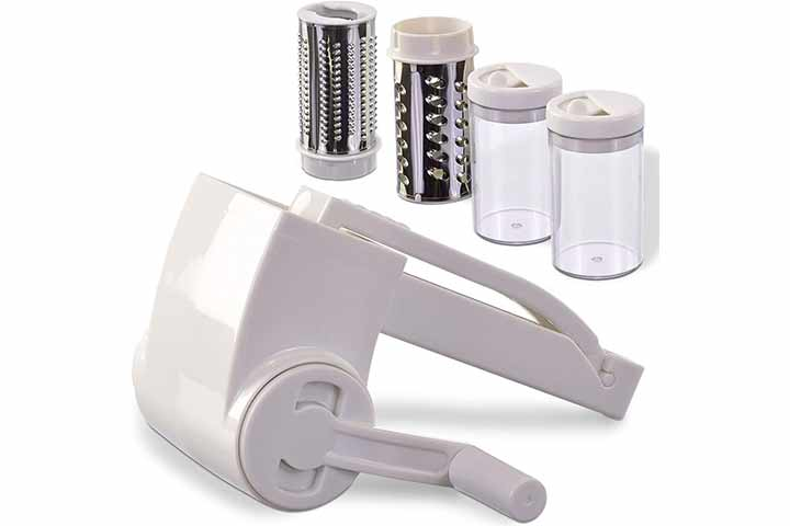 Vivaant Professional-Grade Rotary Grater