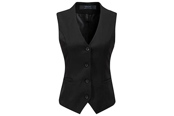 Vocni Women's Fully Lined Waistcoat