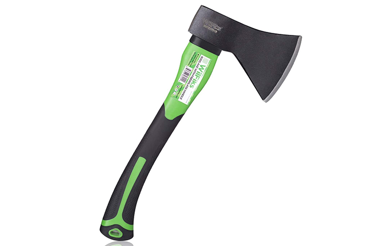WilFiks Chopping Axe, 15in Camping Outdoor Hatchet