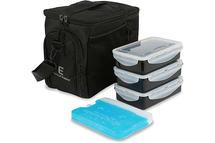 Еvolutionize Mеаl Prеp Insulated Lunch Bag