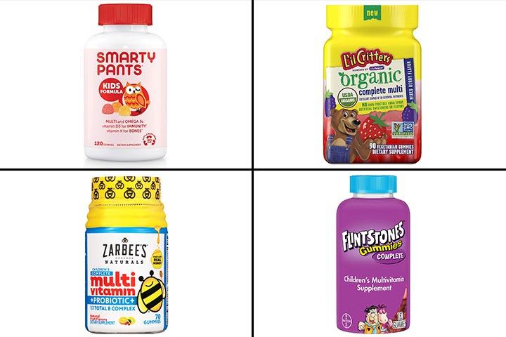 11 Best Gummy Vitamins for Kids In 2020