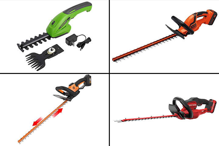 11 Best Hedge Trimmers To Buy In 2020