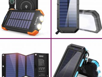 11 Best Solar Chargers For Camping In 2020