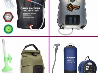 11 best camping showers To Buy In 2021