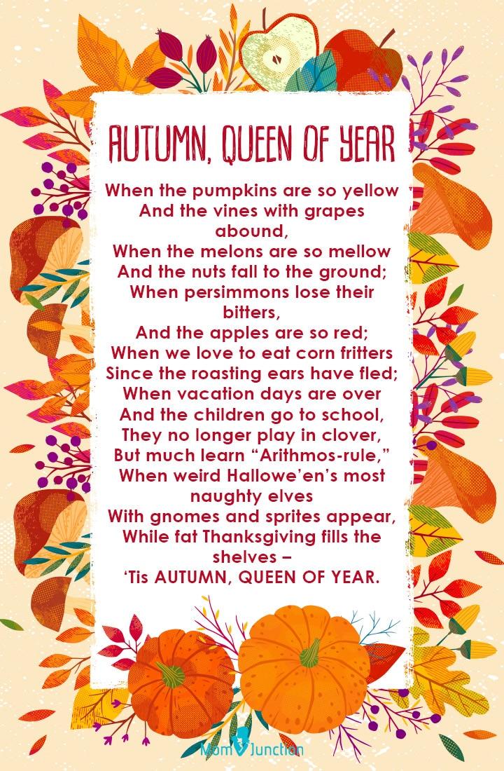 Autumn, Queen of Year
