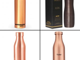 13 Best Copper Water Bottles In India For 2021