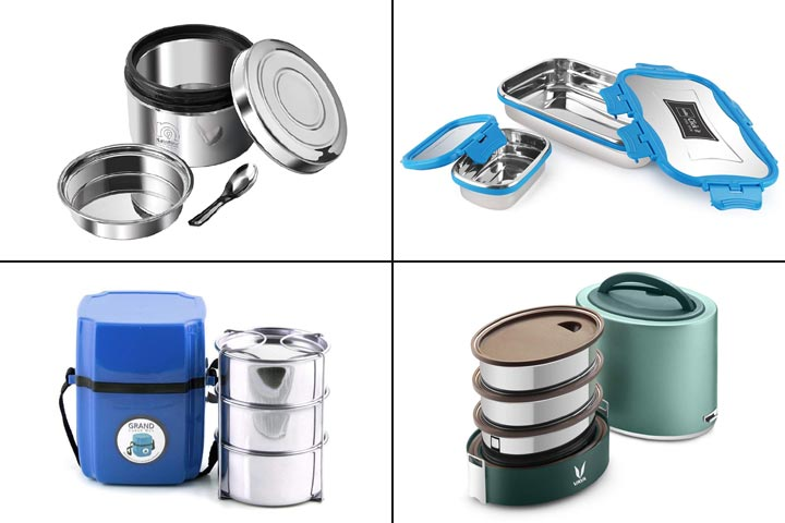 13 Best Stainless Steel Lunch Boxes In India 2020-1