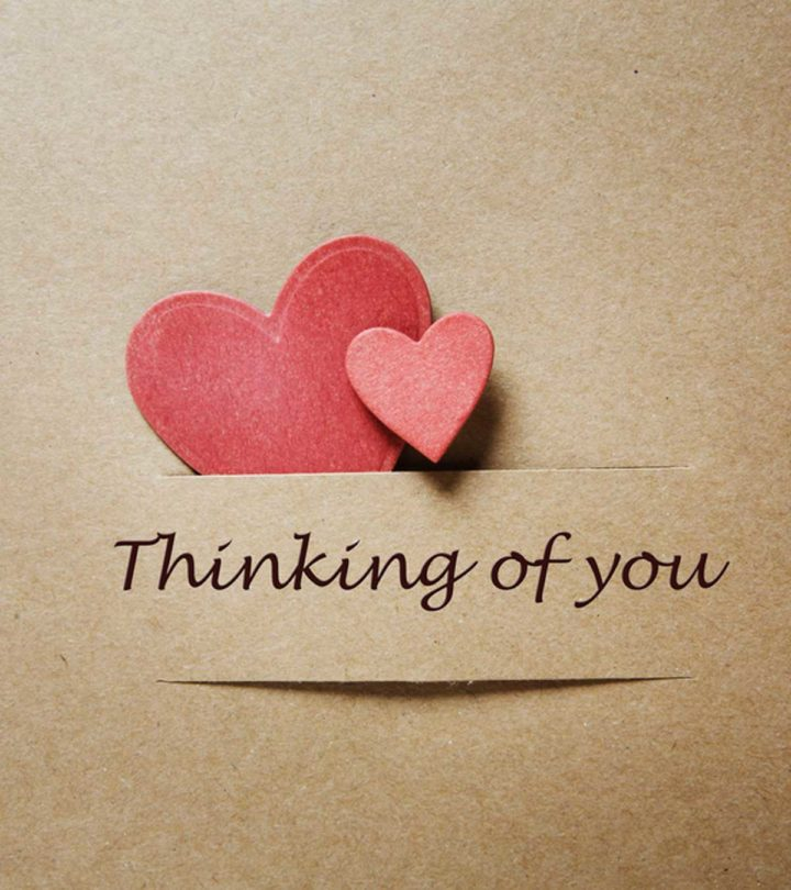 150 Cute And Romantic Thinking Of You Quotes For Him And Her
