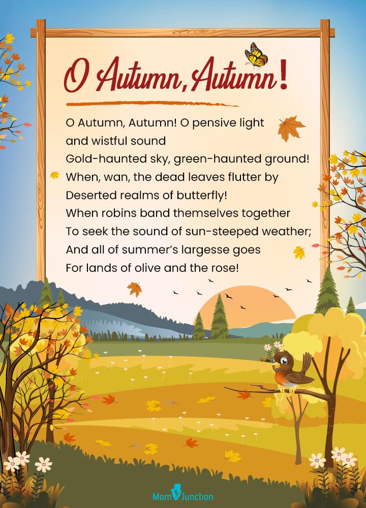 O Autumn, Autumn!