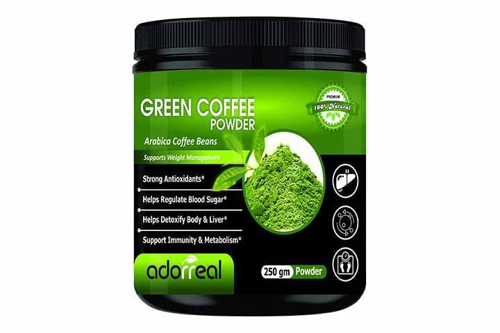 Adorreal Arabica Green Coffee Bean Powder