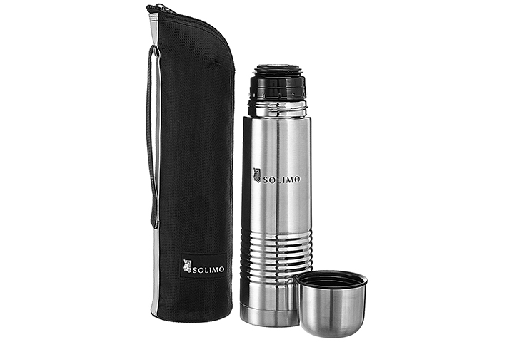 Amazon Brand Solimo Thermal Stainless Steel Flask