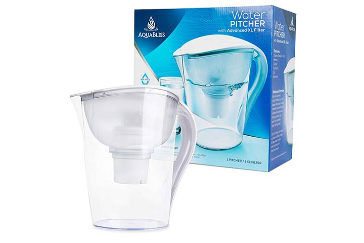 AquaBliss Water Filter Pitcher