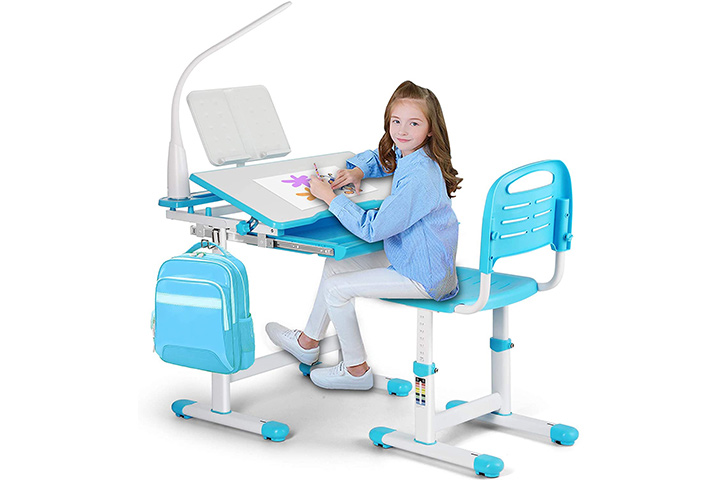 Artist Hand Kids Study Desk and Chair Set