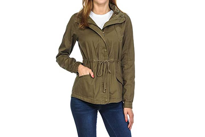 Auline Collection Womens Premium Military Jacket.jpg