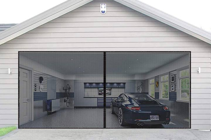 Aurelio Tech Magnetic Garage Door Screen