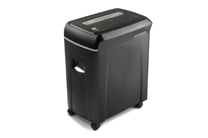 Aurora High-Security Micro-Cut Paper Shredder with Pullout Basket
