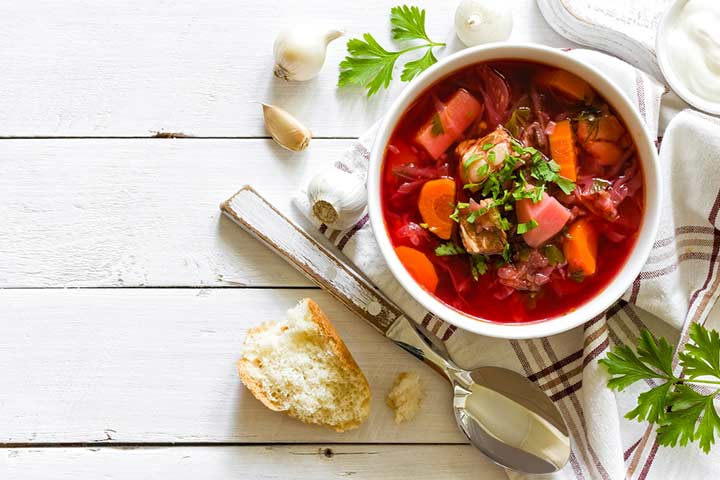 Beet and Carrot Soup