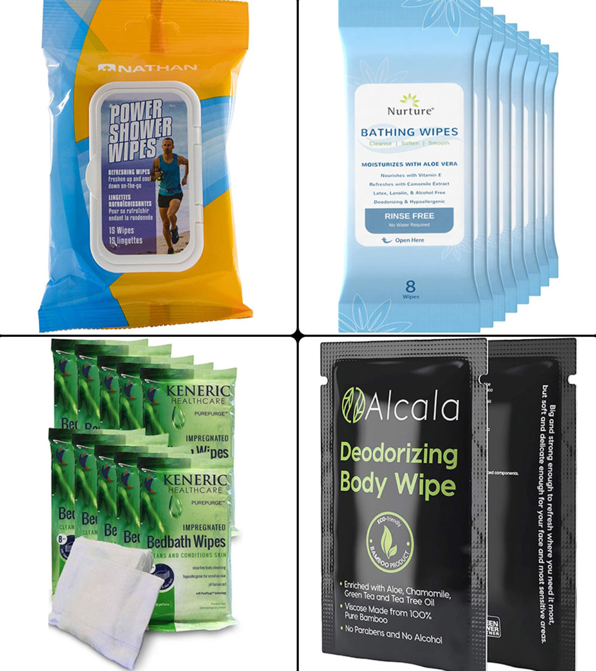 Adult Bathing Wipes Premium Formulations Shower Solutions