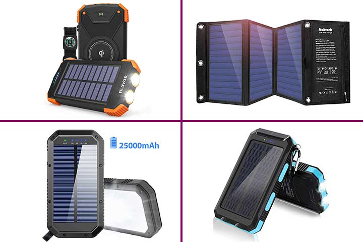 Best Solar Chargers For Camping In 2020