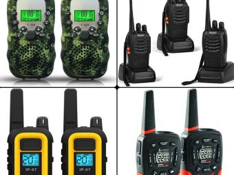 Best Walkie Talkies For Camping In 2021