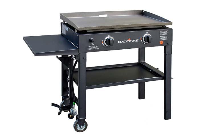 Blackstone 28 Outdoor Flat Top Gas Grill Griddle Station