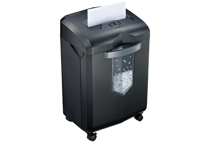 Bonsaii 18-Sheet Heavy-Duty Cross-Cut Paper and Credit Card Shredder