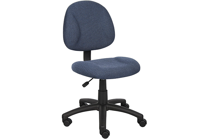 Boss Perfect Posture Deluxe Office Task Armless Chair
