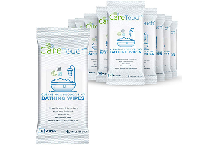 Care Touch Cleansing And Deodorizing Bathing Wipes