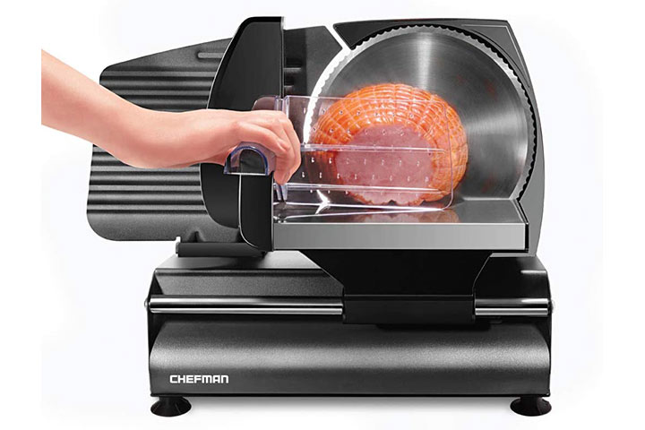Chefman Die-Cast Electric Deli & Food Slicer